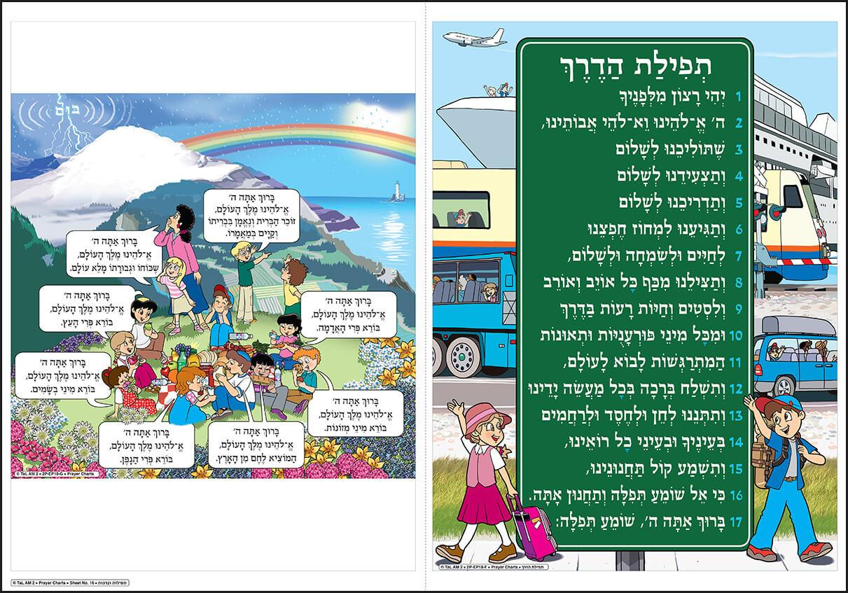 Poster-Birkot haShachar - Sheet 16